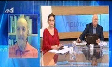 Το μεγάλο λάθος στο Πρωινό Ant1 – Έξω φρενών on air ο Παπαδάκης με τους συνεργάτες του