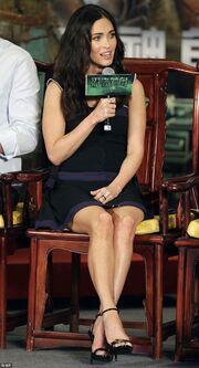 Η Megan Fox ως άλλο… «χελονονιτζάκι»