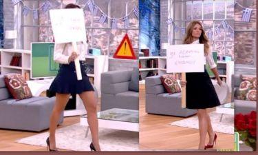 Έκαναν παρέλαση στο Happy Day – Η σέξι φούστα της Τσιμτσιλή και οι κατακόκκινες γόβες της Τσολάκη!