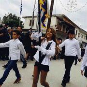 Πάολα: Δείτε την κόρη της σημαιοφόρο!