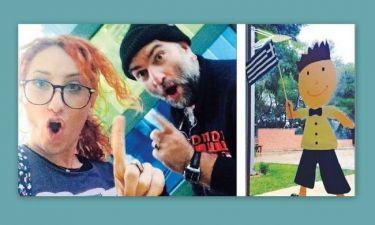 Στόκας- Ψυχίδου: Μαζί στην σχολική γιορτή της κόρης τους