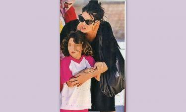 Μαρία Κορινθίου: Βόλτα με την κόρη της