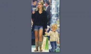 Λίνα Σακκά: Για ψώνια με τον γιο της