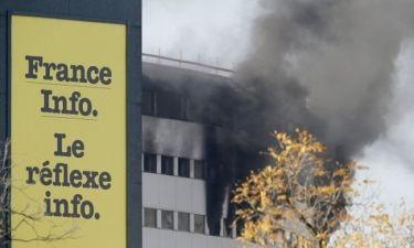 Πήρε φωτιά ραδιοφωνικός σταθμός στο Παρίσι