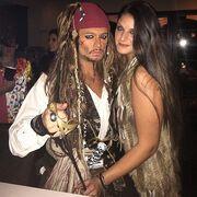Ποιος γνωστός Έλληνας της σόουμπιζ ντύθηκε Jack Sparrow;