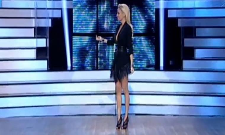 «Dancing with the stars 5»: Η σέξι εμφάνιση της Δούκισσας Νομικού