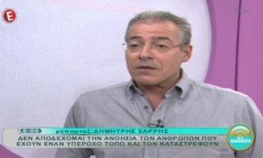 Νίκος Μάνεσης: «Θα με εξίταρε μια εκπομπή το μεσημέρι»