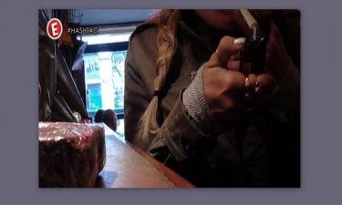 Δείτε την Μελέτη να κάνει μαριχουάνα μπροστά στην κάμερα