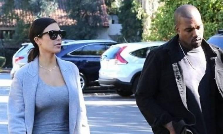 Η cool γιαγιά των Kardashians βολτάρει μαζί με την Kim και τον Kanye: Δείτε τους!