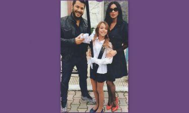 Η Πάολα με τον πρώην άντρα της καμαρώνουν την κόρη τους στην παρέλαση