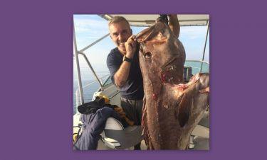 O Στέλιος Ρόκκος έπιασε ψάρι 80 κιλών!