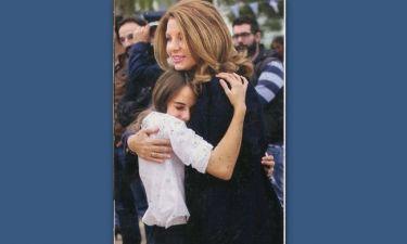 Άντζελα Γκερέκου: Πήγε στην παρέλαση για την κόρη της
