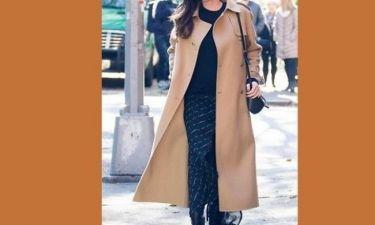 Πασίγνωστη ηθοποιός φόρεσε παλτό για να κρύψει την κοιλιά της εγκυμοσύνης της! (εικόνες)