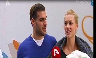 Κολιδά- Εμμανουηλίδης: Με τον γιο τους στο σπίτι- Τι δήλωσε το ζευγάρι