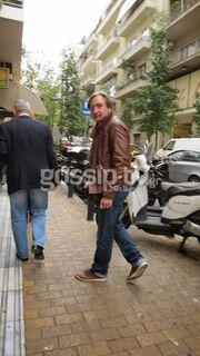 Άκης Σακελλαρίου: Βόλτα στο Κολωνάκι