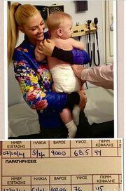Ο γιος της πήρε εννιά πόντους σε ένα μήνα