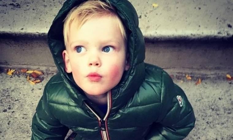 Ποιας γνωστής ηθοποιού είναι γιος ο μικρούλης;