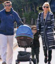 Η οικογένεια Λιάγκα βγήκε βόλτα!