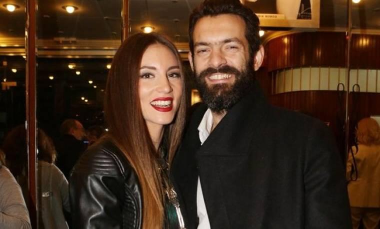 Αθήνα Οικονομάκου-Φίλιππος Μιχόπουλος: Βραδινή έξοδος στο θέατρο