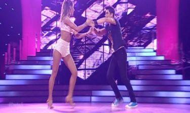 Χρήστος Σπανός: Η χορογραφία του στο 4ο live του «DWTS 5»