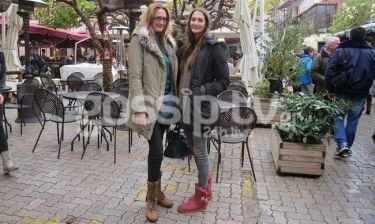 Χριστίνα Γαργαροπούλου: Στην Αράχοβα με την αδελφή της