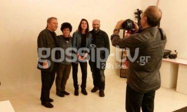 Backstage από την φωτογράφιση Μητσιά – Στόκα - Βουλγαράκη
