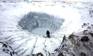 Αποστολή στο μυστηριώδη κρατήρα της Σιβηρίας
