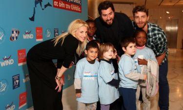 Ευχές στα παιδιά έστειλαν οι επώνυμοι μαζί με την υπόσχεση να τρέξουν ξανά για καλό σκοπό