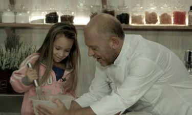 «Γλυκές Αλχημείες»: Τρία διαφορετικά κέικ ετοιμάζει ο Στέλιος Παρλιάρος