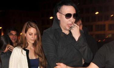 Marilyn Manson: «Μοντάζ οι σκηνές του βιασμού της Lana Del Rey»