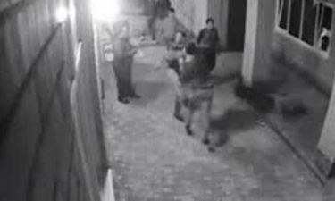 Του πείραξαν τη γυναίκα αλλά αυτός ήταν…πυγμάχος (Video)