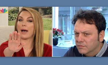 Ένταση στην εκπομπή της Τατιάνας – Άνω κάτω με την τηλεφωνική παρέμβαση του Αγγελόπουλου