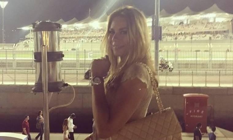 Η Νίνα Γεωργαλά βρέθηκε στα VIP της Formula 1 στο Abu Dhabi