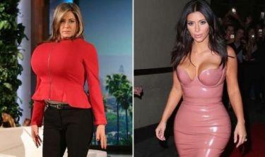 Η Jennifer Aniston θέλει να μοιάσει στην Kim Kardashian