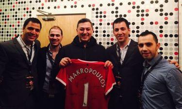 Ο Νίκος Μακρόπουλος καλεσμένος της Manchester United