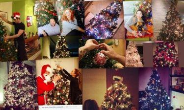 Oι Έλληνες celebrities στόλισαν το χριστουγεννιάτικο δέντρο τους! (φωτό)