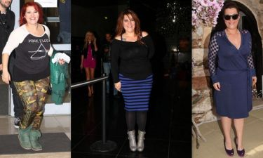 O συνεχής αγώνας της Κατερίνας Ζαρίφη με τα κιλά της