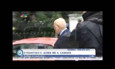 Πρόταση Σαμαρά στον Σταύρο Δήμα να είναι υποψήφιος ΠτΔ