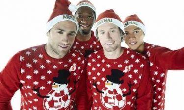 Με πυτζάμες για φιλανθρωπικό σκοπό τ' αστέρια της Άρσεναλ (photos)