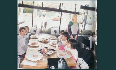 Μαρί Κυριακού: Διοργάνωσε γεύμα για τους μικρούς της φίλους