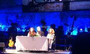 Το gossip-tv στην συνέντευξη τύπου των Νταλάρα-Βιτάλη-Γλυκερία