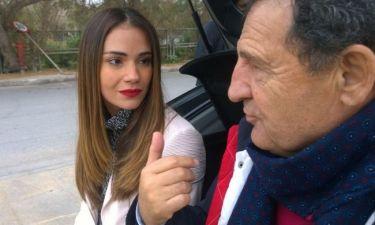 H Άννα Μπουσδούκου στο τιμόνι του «Traction»