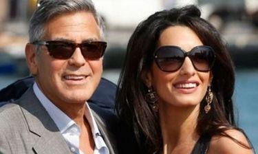 Kόντρα σε όσους τους θέλουν χώρια: Δείτε την Alamuddin και τον Clooney σε ρομαντικό δείπνο
