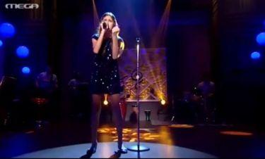 Η εμφάνιση της Άντρεα στον τελικό του «The music school»