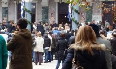 Εικόνες: Το τελευταίο «αντίο» στην Ιωάννα Γιαννακοπούλου (Nassos blog)