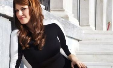 Κατερίνα Ζαρίφη: Με τον αγαπημένο της για παϊδάκια