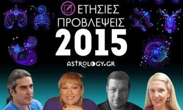 2015: Ετήσιες Προβλέψεις για όλα τα ζώδια