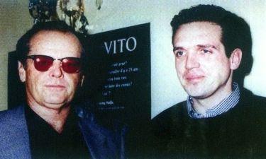 Μήπως αναγνωρίζετε τον Έλληνα δημοσιογράφο δίπλα στονJackNicholson;