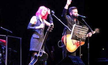 Μαραντίνης: Τραγούδησε σε φεστιβάλ της Ρώμης με την νικήτρια του ιταλικού «The voice»