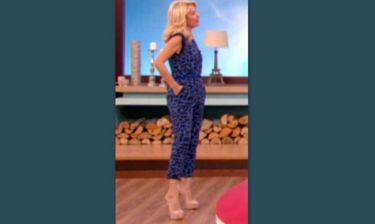 Δείτε ποια παρουσιάστρια έβαλε στην εκπομπή της την ίδια ολόσωμη φόρμα με την Μενεγάκη!